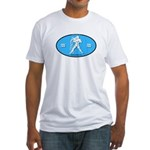 Aquarius Color Fitted T-Shirt