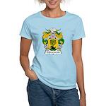 Miramonte Family Crest  Women's Light T-Shirt
