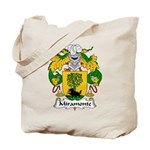 Miramonte Family Crest  Tote Bag