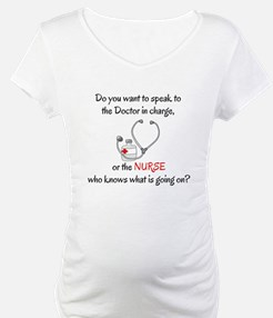DO YOU WANT TO SPEAK TO THE DOCT Shirt