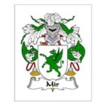 Mir Family Crest Small Poster