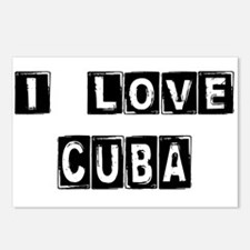 I Block Love Cuba Postcards (Package of 8)