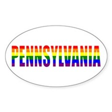Pennsylvania Pride Oval Decal