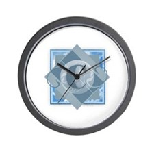 Cute Chaz Wall Clock