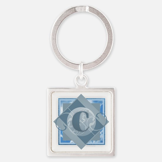 Funny Catherine Square Keychain