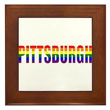 Pittsburgh Pride Framed Tile