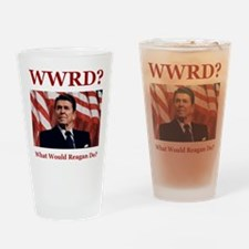 PRES40 WWRD? Drinking Glass