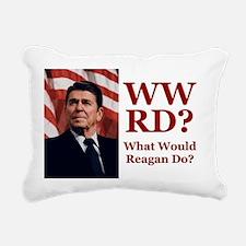 PRES40 WWRD? Rectangular Canvas Pillow
