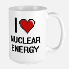I Love Nuclear Energy Mugs