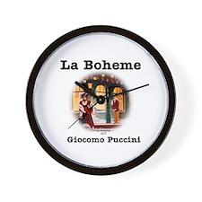 OPERA - LA BOHEME - GIOCOMO PUCCINI Wall Clock