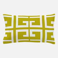 Mustard Gold Tile Pillow Case