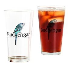 Budgerigar Drinking Glass