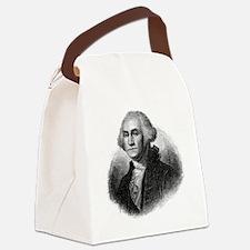 Funny George washington Canvas Lunch Bag