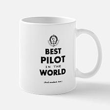Best Pilot in the World Mugs