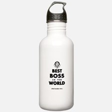 Best Boss in the World Water Bottle