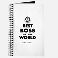 Best Boss in the World Journal