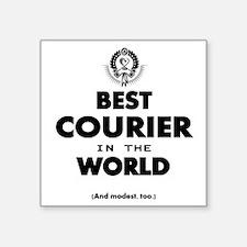 Best Courier In The World Sticker