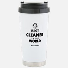 Best Cleaner in the Wor Stainless Steel Travel Mug