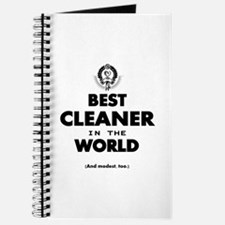 Best Cleaner in the World Journal