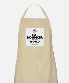 Best Bouncer in the World Apron