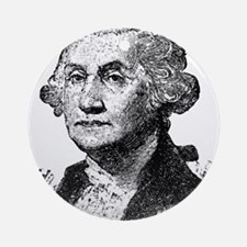 George Washington Round Ornament