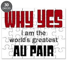 World's Greatest Au Pair Puzzle