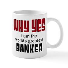 World's Greatest Banker Mugs
