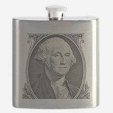 George Washington Flask