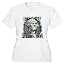 George Washi Plus Size T-Shirt