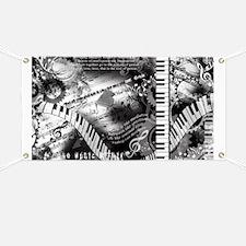 Classical Piano Art Musician Mozart Music A Banner
