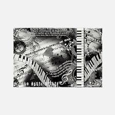 Classical Piano Art Musician Mozart Music Magnets