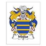 Mejias Family Crest Small Poster