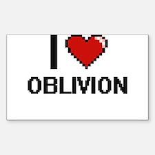 I Love Oblivion Decal