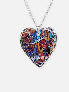 Juleez Music Theme Art Decor Necklace