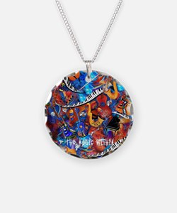Juleez Music Theme Art Decor Necklace