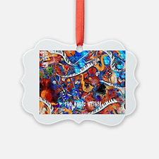 Juleez Music Theme Art Decor Musi Ornament