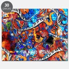Juleez Music Theme Art Decor Music Lovers P Puzzle
