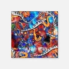 Juleez Music Theme Art Decor Music Lovers Sticker
