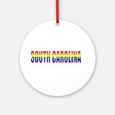 South Carolina Pride Ornament (Round)
