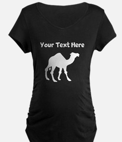 Camel Silhouette Maternity T-Shirt