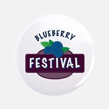 Blueberry Festival Button