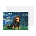 Lilies #5-Cavalier (BT) Greeting Cards (Pk of 20)