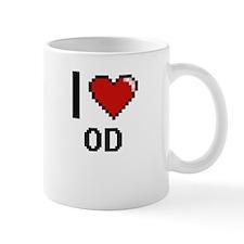 I Love Od Mugs