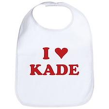 I LOVE KADE Bib