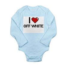 I Love Off-White Body Suit