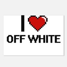 I Love Off-White Postcards (Package of 8)