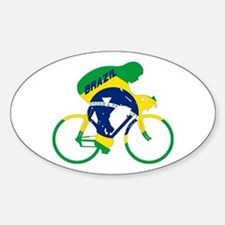 Brazil Cycling Decal