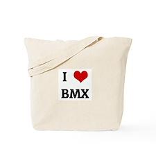 I Love BMX Tote Bag