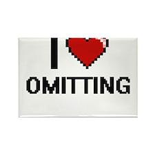 I Love Omitting Magnets