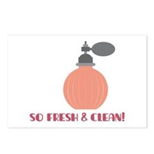 Fresh & Clean Postcards (Package of 8)